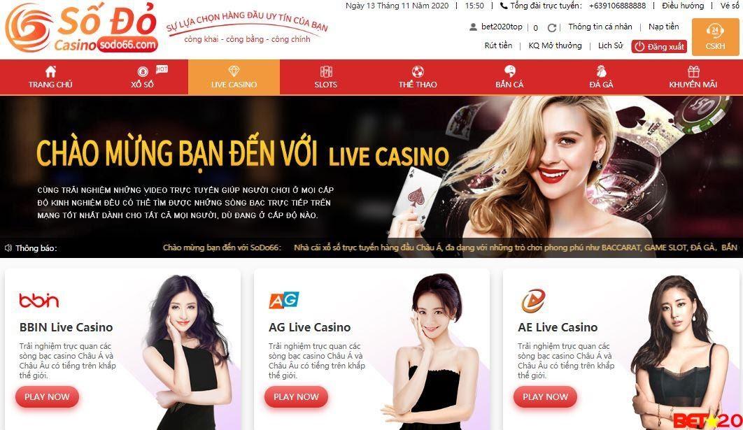 Bet20.top - Top 10 trang casino trực tuyến uy tín tại Việt Nam