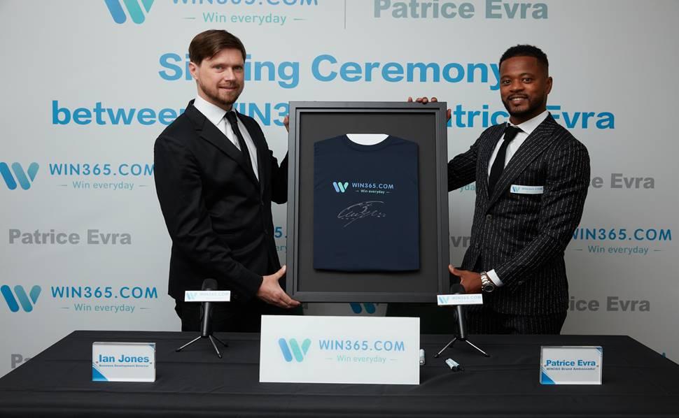 Sau CLB A.S Roma, cựu danh thủ người Pháp – Patrice Evra chính thức trở thành đại sứ thương hiệu độc quyền của WIN365