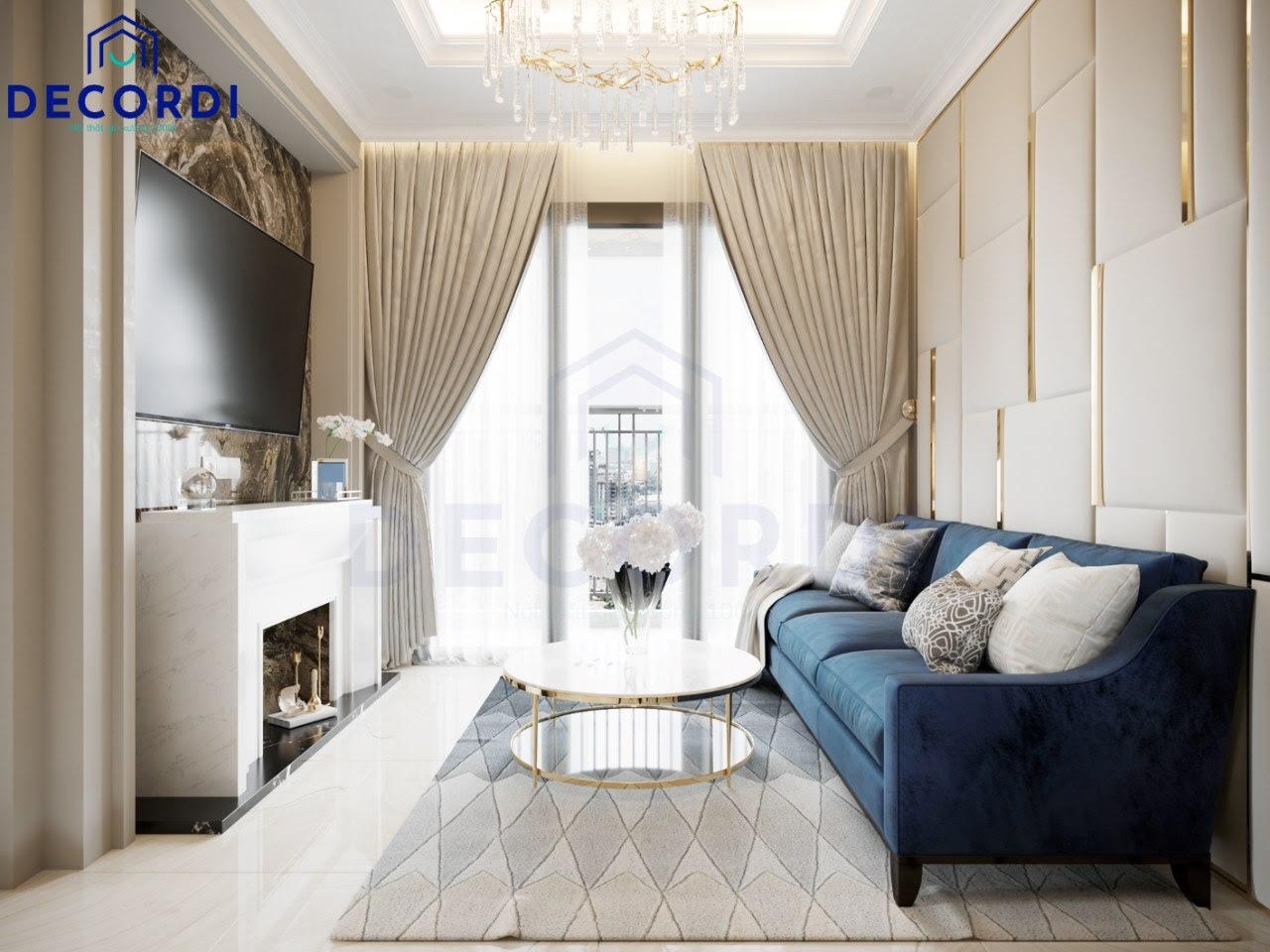 Địa chỉ thi công nội thất chung cư trọn gói, giá ưu đãi